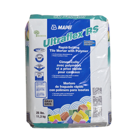 MAPEI 25 lbs Gray Powder Polymer-Modified Mortar