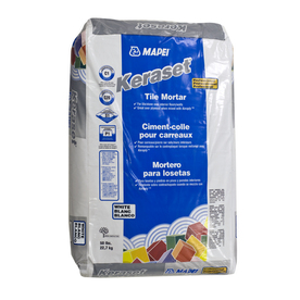 MAPEI 50 lbs White Powder Dry-Thinset Mortar