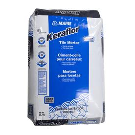 MAPEI Gray Powder Dry-Thinset Mortar