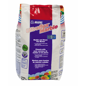 MAPEI 10 lbs White Powder Polymer-Modified Mortar