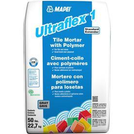 MAPEI Gray Powder Polymer-Modified Thinset Mortar
