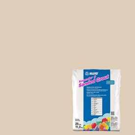 MAPEI 25-lbs Lt. Almond Sanded Powder Grout