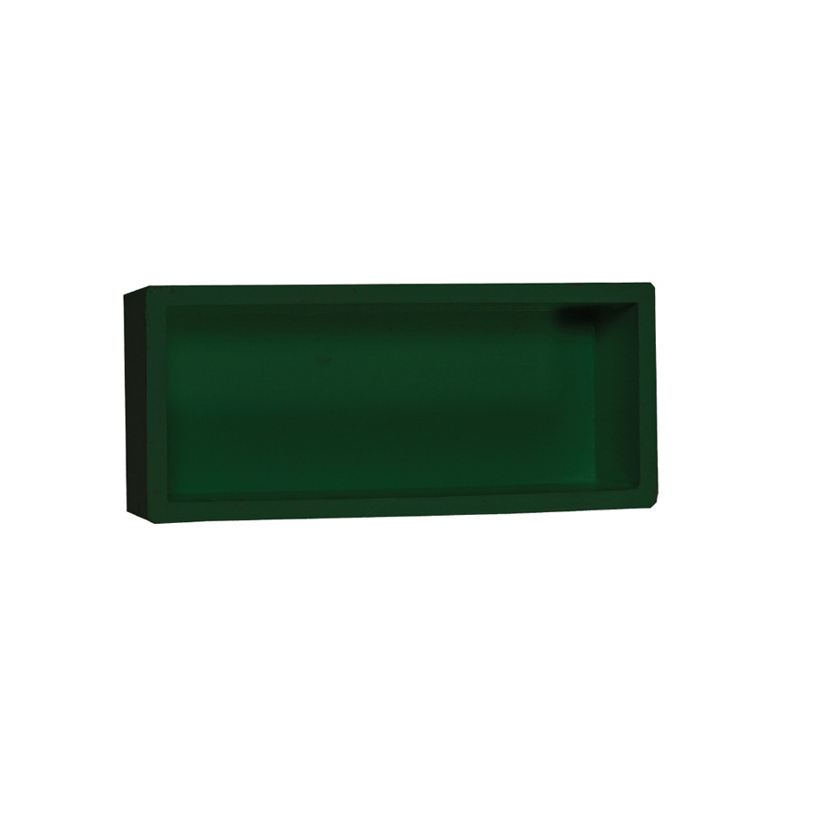 Shop mapei green shower wall corner shelf at - Corner wall shelves lowes ...