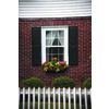 Pinecroft 2-Pack Unfinished Raised Panel Wood Exterior Shutters (Common: 51-in x 15-in; Actual: 51-in x 15-in)