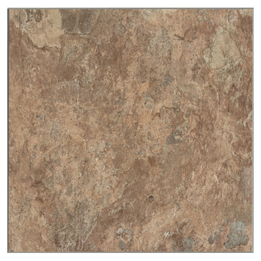 Shop Cryntel 12 In X 12 In Sand Stone Peel And Stick Slate Finish Vinyl Tile At