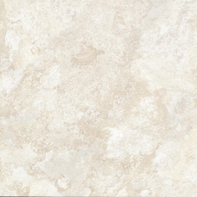 Cryntel Italiastone 12-in x 12-in Groutable Bianco Peel-and-Stick Stone Luxury Residential Vinyl Tile