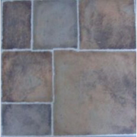 Style Selections 12-in x 12-in Canyon Slate Finish Vinyl Tile