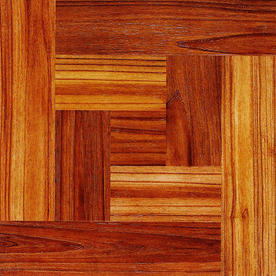 Cryntel 12-in x 12-in Chateau Wood Finish Vinyl Tile