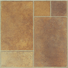 Shop Style Selections 12 In X 12 In Canyon Stone Peel And Stick Stone Finish Vinyl Tile At