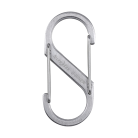 Nite Ize 2.67-in Stainless Oval Straight Carabiner