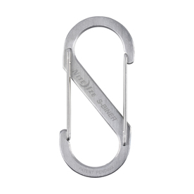 Nite Ize 4.38-in Stainless Oval Straight Carabiner