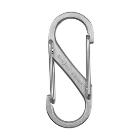 Nite Ize 1.56-in Stainless Oval Straight Carabiner