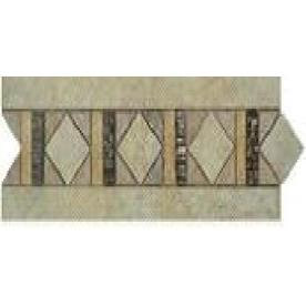 Style Selections Capri Mixed/Glazed Porcelain Listello Tile (Common: 4-in x 12-in; Actual: 3.86-in x 11.81-in)