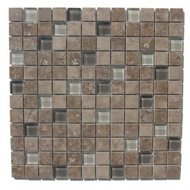 GBI Tile &amp; Stone Inc. 12-in x 12-in Glazed Porcelain Wall Tile