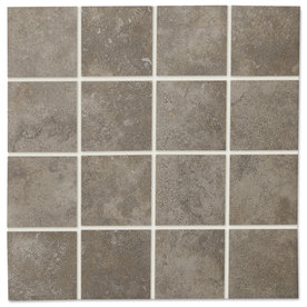 GBI Tile &amp; Stone Inc. 12-in x 12-in Capri Charcoal Thru Body Porcelain Wall Tile
