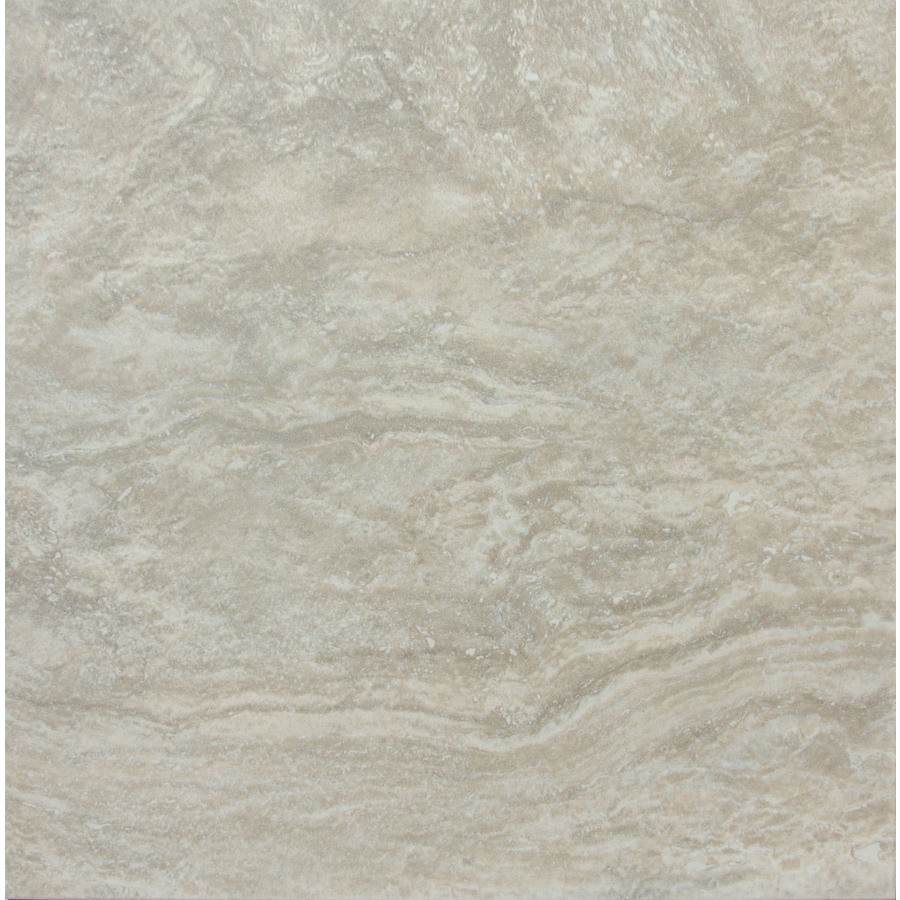 Shop style selections floriana heather glazed porcelain indoor outdoor floor tile common 12 in Porcelain tile flooring
