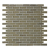 GBI Tile & Stone Inc. 12-in x 12-in Gemstone Champagne Glass Wall Tile