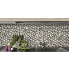 GBI Tile & Stone Inc. Glass Shell Subway Mosaic Glass Wall Tile (Common: 12-in x 12-in; Actual: 11.97-in x 11.97-in)
