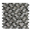 GBI Tile & Stone Inc. 12-in x 12-in Glass Shell Glass Wall Tile