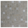 GBI Tile & Stone Inc. 12-in x 12-in Floriana Oyster Glazed Porcelain Wall Tile
