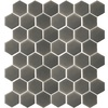 allen + roth Allen and Roth Charcoal Honeycomb Mosaic Ceramic Wall Tile (Common: 12-in x 12-in; Actual: 12.4-in x 12.4-in)