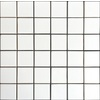 allen + roth White Uniform Squares Mosaic Ceramic Wall Tile (Common: 12-in x 12-in; Actual: 11.77-in x 11.81-in)