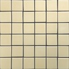 allen + roth Allen and Roth Fawn Uniform Squares Mosaic Ceramic Wall Tile (Common: 12-in x 12-in; Actual: 11.77-in x 11.81-in)