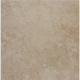 Style Selections Sienna Almond Porcelain Floor Tile (Common: 12-in x 12-in; Actual: 11.81-in x 11.81-in)