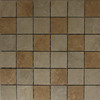 Style Selections Sienna Mixed/Glazed/Porcelain Mosaic Porcelain Wall Tile (Common: 12-in x 12-in; Actual: 11.69-in x 11.69-in)