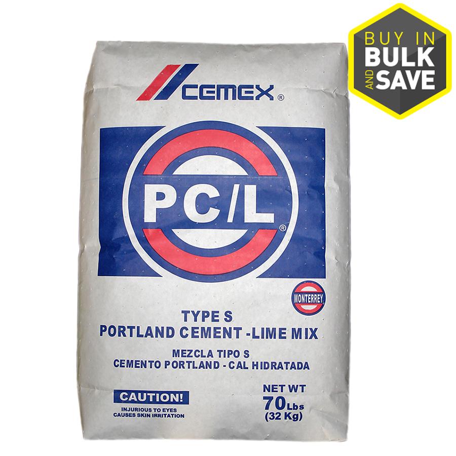 Portland Cement Lowes : Shop cemex lb ii portland cement at lowes