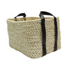 allen + roth 12-in W x 9.5-in H Natural Maize Market Tote