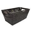allen + roth 8.5-in W x 6-in H Maize Storage Tote