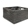 allen + roth 12-in W x 7-in H Maize Storage Crate