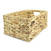 allen + roth 10.5-in W x 6.75-in H Water Hyacinth Storage Crate