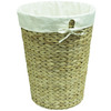 16-in W x 21-in H x 16-in D Water Hyacinth Hamper