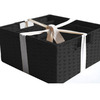 12-in W x 6-in H x 12-in D Woven Cord Baskets