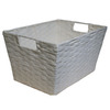 Style Selections 10-in W x 8-in H White Paper Bin