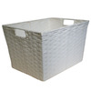 Style Selections 12-in W x 10-in H White Paper Bin