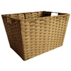 allen + roth 12-in W x 10-in H Woven Cord Floor Bin