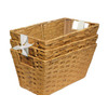 allen + roth 7-in W x 10-in H Woven Cord Bin