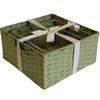 12-in W x 6-in H Woven Cord Square Basket