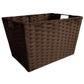 allen + roth 12-in W x 10-in H x 16-in D Woven Cord Tote