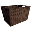 allen + roth 12-in W x 10-in H Woven Cord Tote