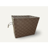Style Selections 14.25-in W x 11-in H Brown Fabric Milk Crate
