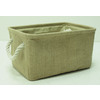 Style Selections 13-in W x 7-in H Natural Fabric Basket