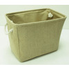 Style Selections 15-in W x 11.5-in H Natural Fabric Basket