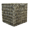 10.7-in W x 11-in H x 10.7-in D Espresso Maize Milk Crate