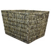 14.25-in W x 12-in H x 18-in D Espresso Maize Basket