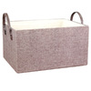 11.5-in W x 8-in H x 15-in D Brown Paper Basket