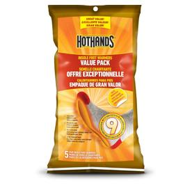 HotHands 5-Pack Heated Insoles